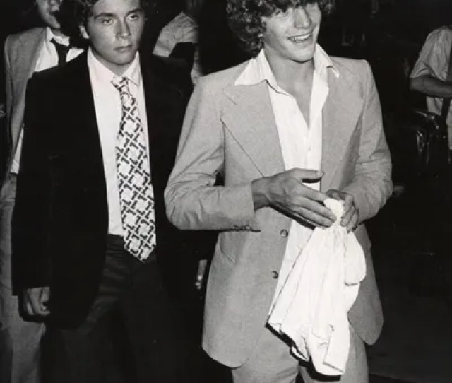 28 1976 John F Kennedy Jr During Rfk Procelebrity Tennis Tournament Party