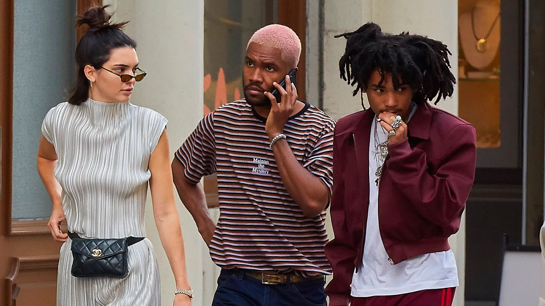 Frank Oceans Pink Hair Is Already Summers Defining Style