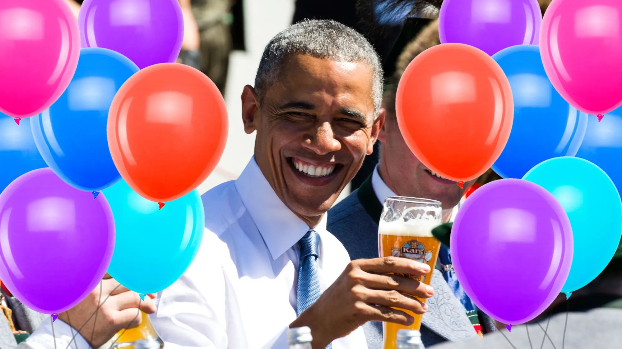 Happy Birthday To Barack Obama The Only Person Having Fun Right Now Gq