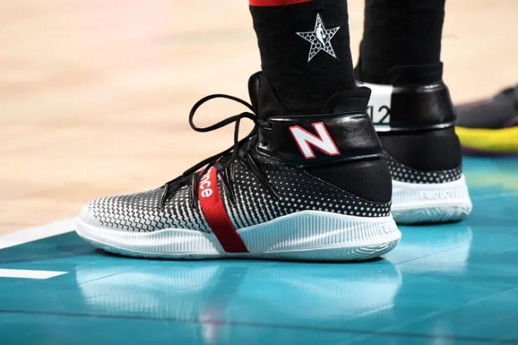 The sneakers of Kawhi Leonard