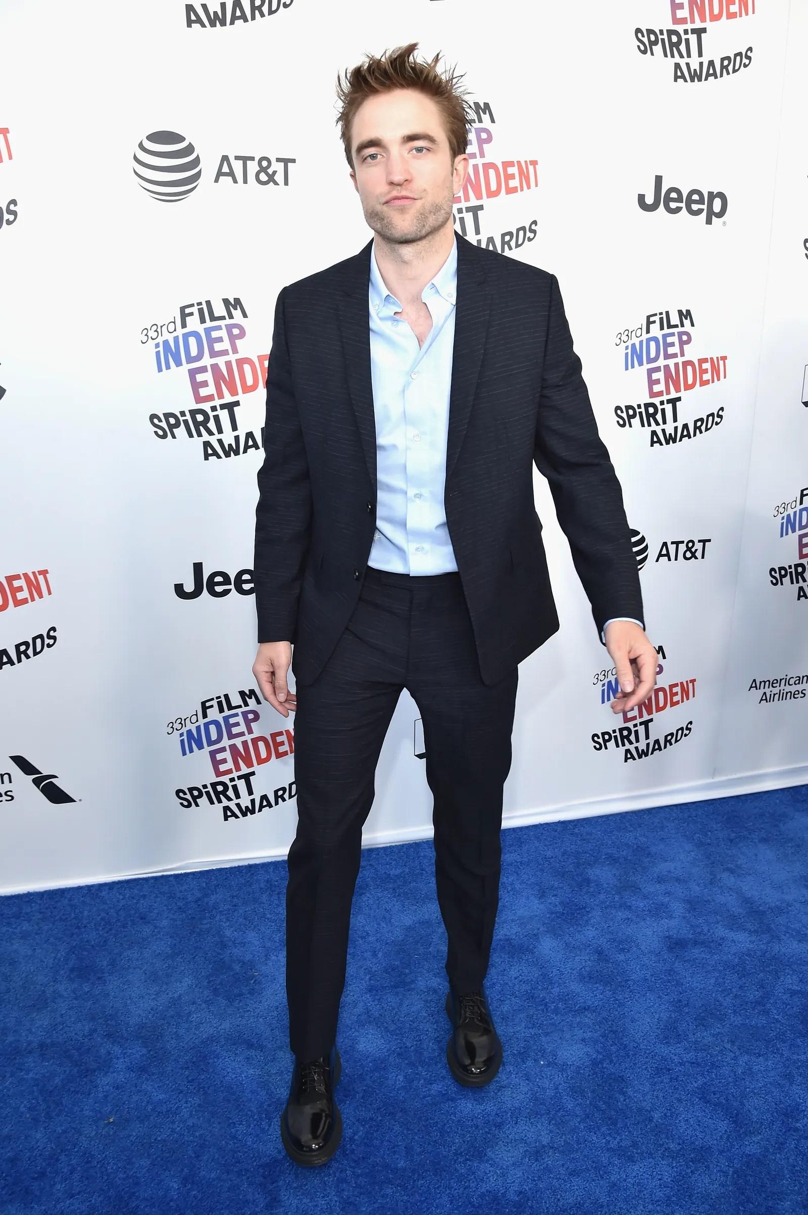 SANTA MONICA CA MARCH 03 Robert Pattinson attends the 2018 Film Independent Spirit Awards on March 3 2018 in Santa...