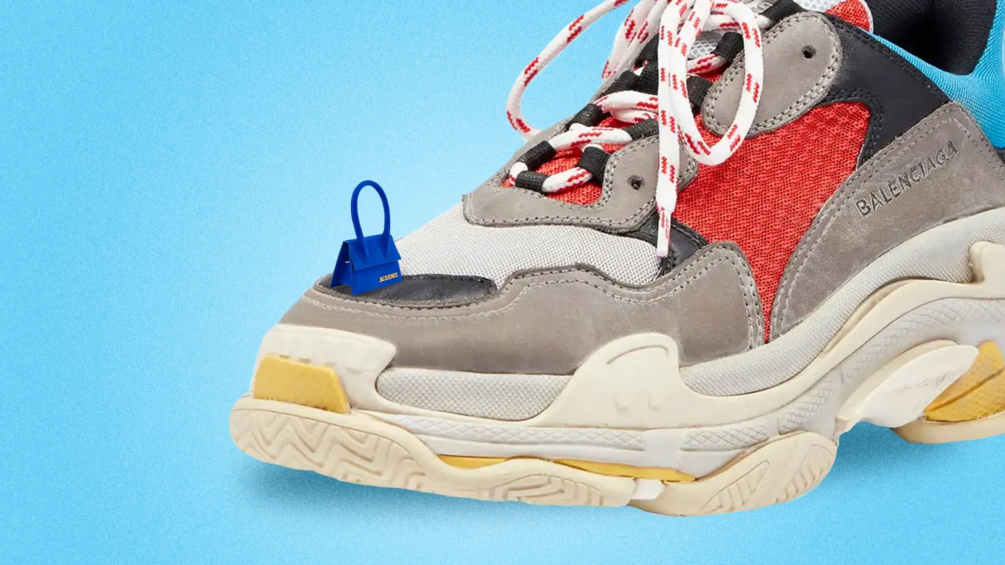 Used Select Shop Meme Mori Balenciaga Triple S Trainers 533883