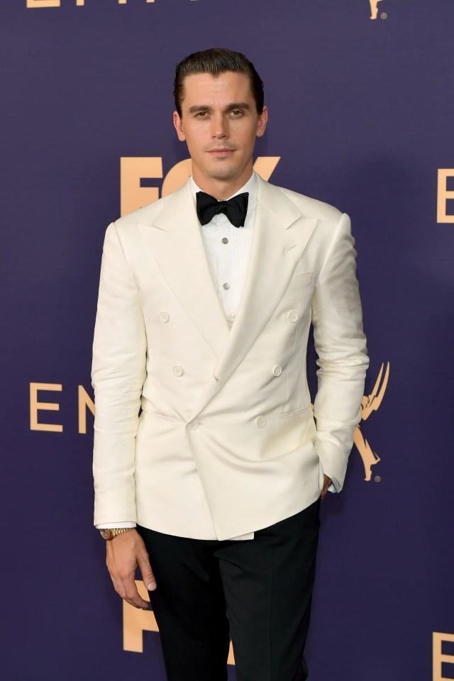 LOS ANGELES CALIFORNIA  SEPTEMBER 22 Antoni Porowski attends the 71st Emmy Awards at Microsoft Theater on September 22...