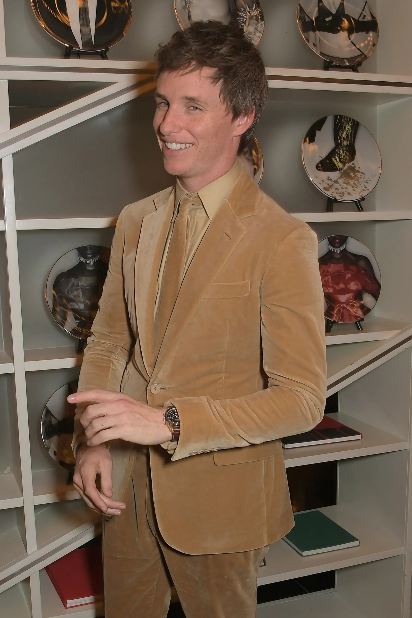 LONDON ENGLAND OCTOBER 07 Eddie Redmayne attends the UK Premiere after party for The Aeronauts during the 63rd BFI...