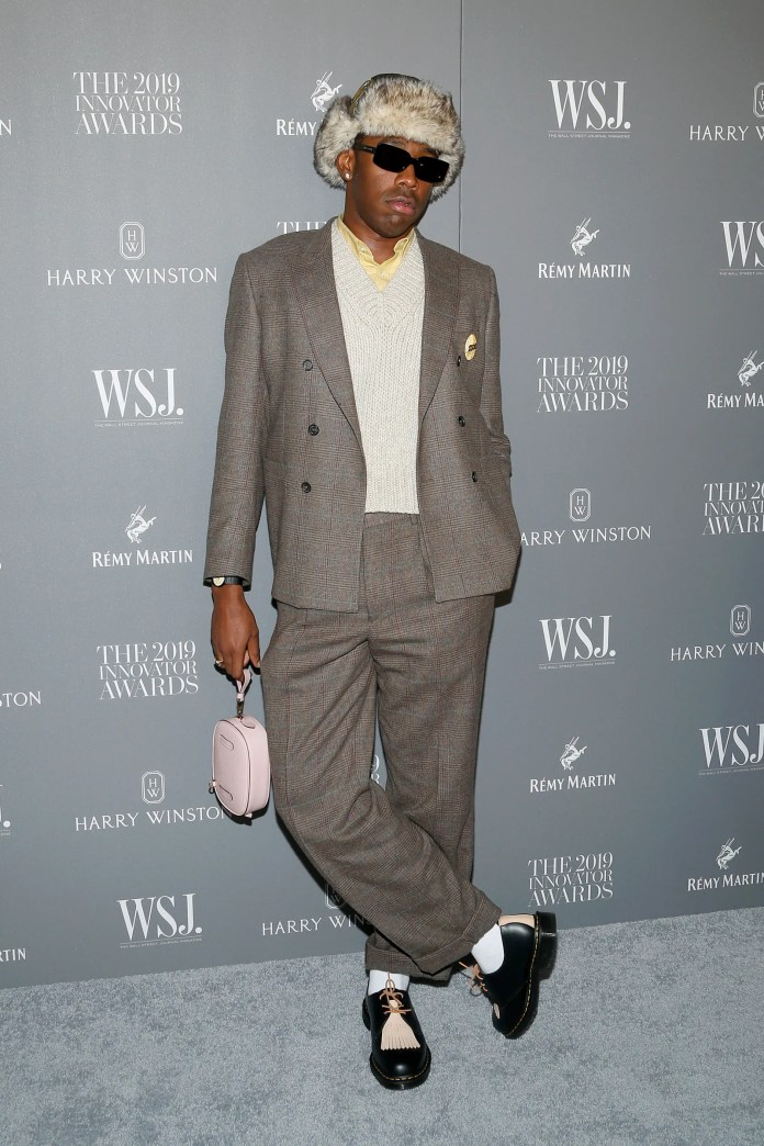 NEW YORK NEW YORK NOVEMBER 06 Tyler The Creator attends the WSJ. Magazine 2019 Innovator Awards sponsored by Harry...