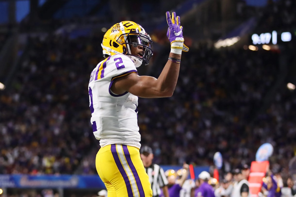 Justin Jefferson: The Real-Life Diet of the LSU Receiver and ...