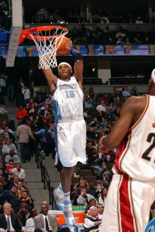 Carmelo Anthony in a game