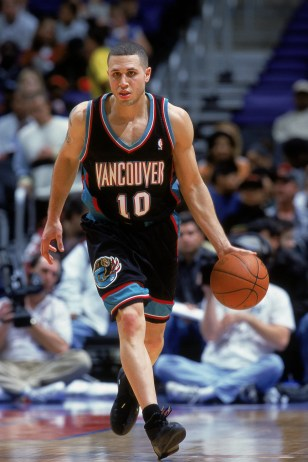Mike Bibby in a game