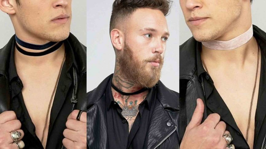 Image result for asos men choker