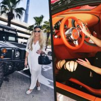 This hot girl has your dream job and car