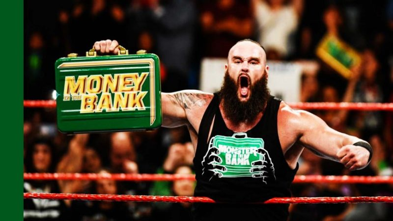 Image result for braun strowman money in the bank 2018