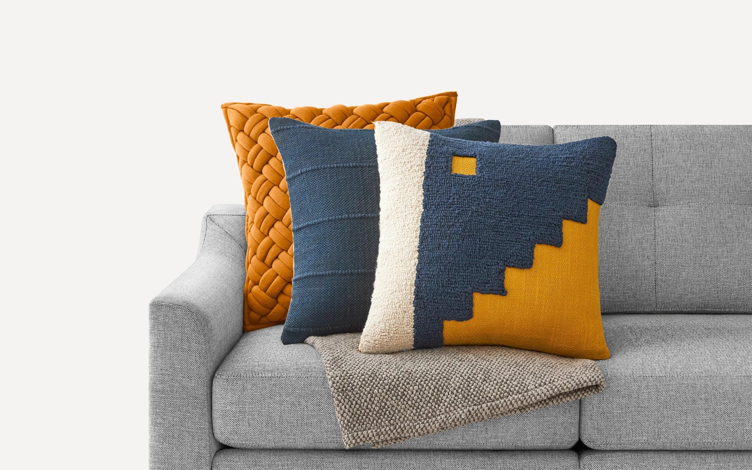 accent pillows throw blankets burrow
