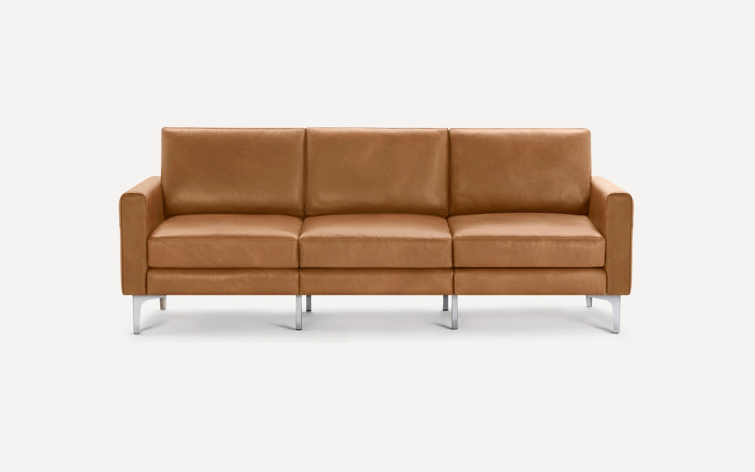 burrow leather sofas sectionals
