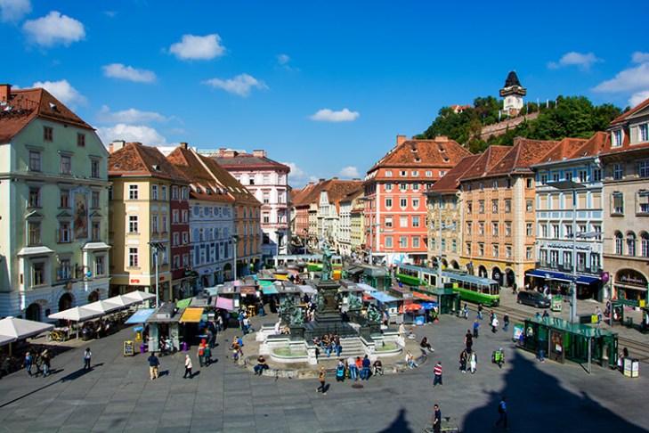 Hauptplatz Graz   Sehenswertes aus Graz   Fotos   Sehenswürdigkeiten
