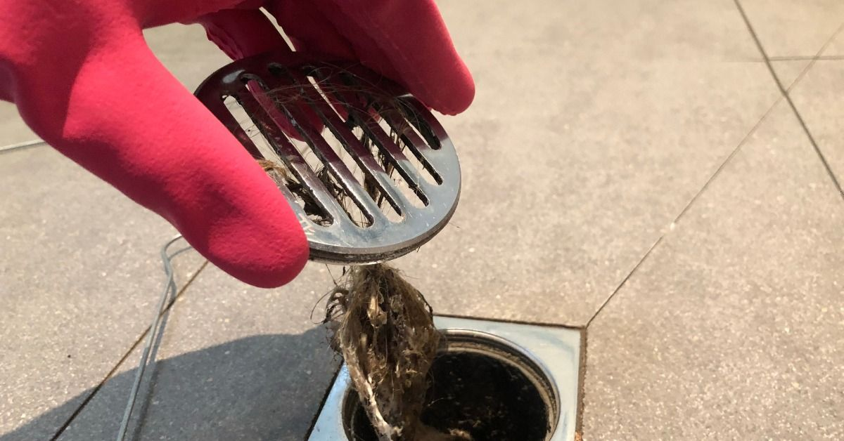 how to naturally unclog a drain