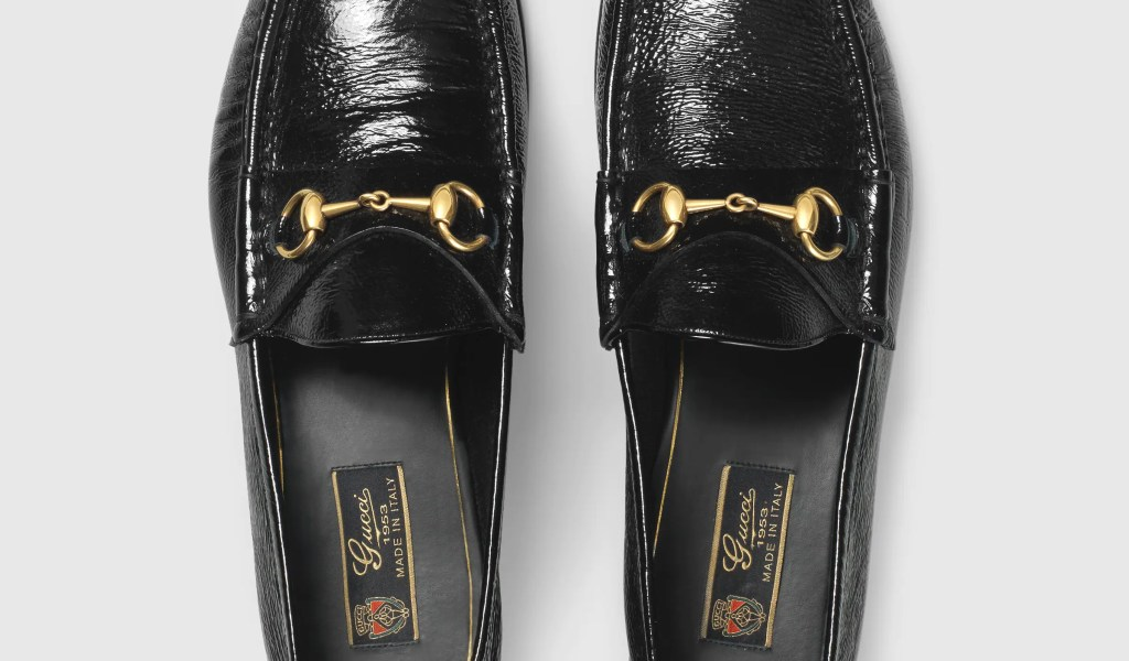 9d9c33d90 Gucci Leather Loafers - Home of Fashions