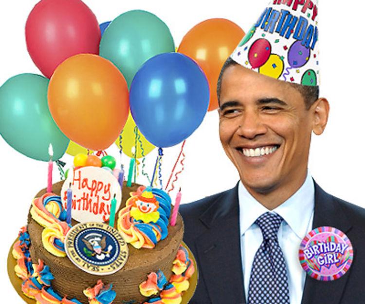 Happy Birthday Mr President