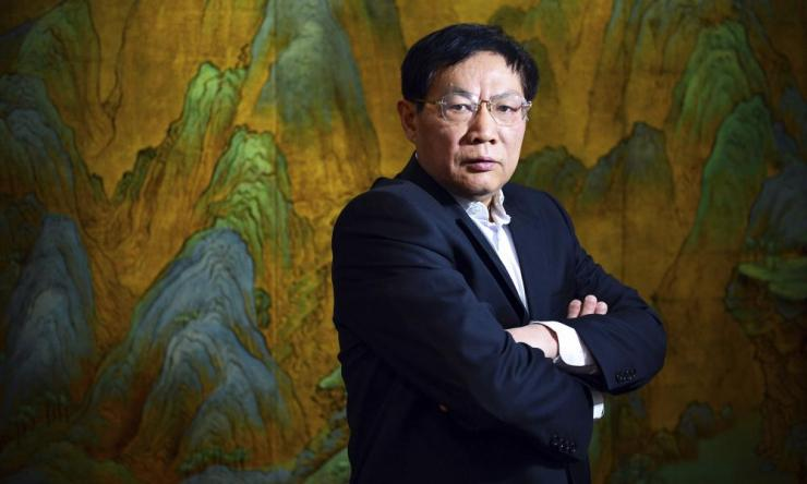 Chinese real estate mogul Ren Zhiqiang poses for a photo in his office in Beijing in 2012. Ren, a prominent Communist party member who criticised Chinese leader Xi Jinping's handling of the coronavirus outbreak, has been ousted from the party.