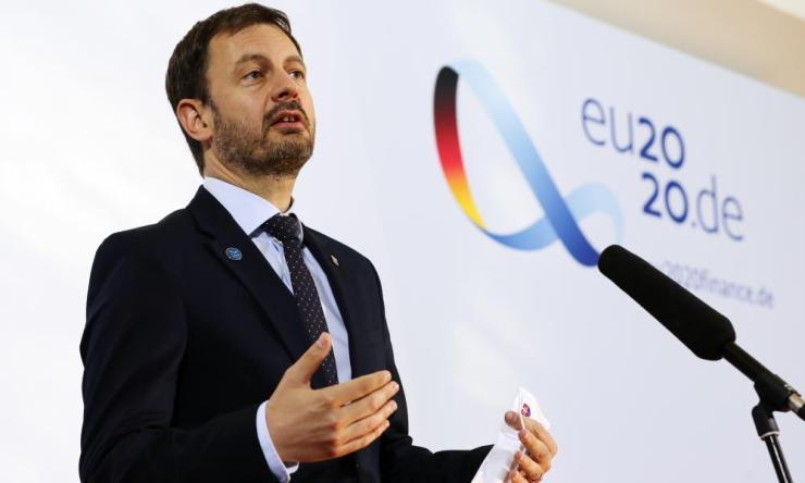 Finance Minister of Slovakia Eduard Heger