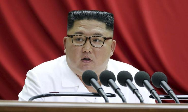 Kim Jong Un said North Korea will never denuclearise unless the United States discards its hostile policy towards it.