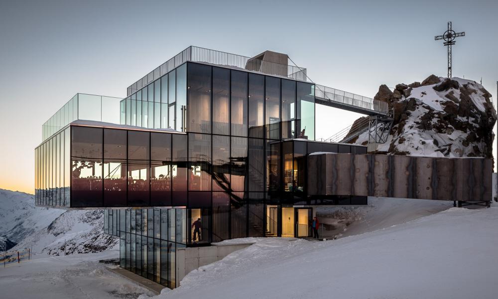 IceQ in Sölden restaurant, as featured in the James Bond film Spectre.