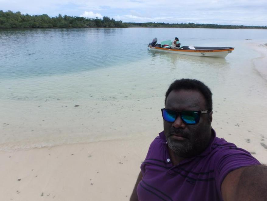 Fred Patison, the Solomon Islands country manager for the Secretariat of the Pacific Regional Environment Programme