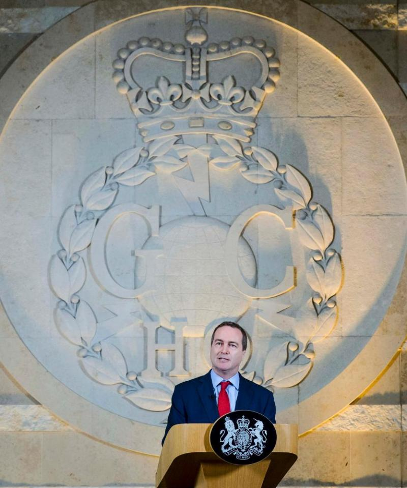 Robert Hannigan, former head of GCHQ