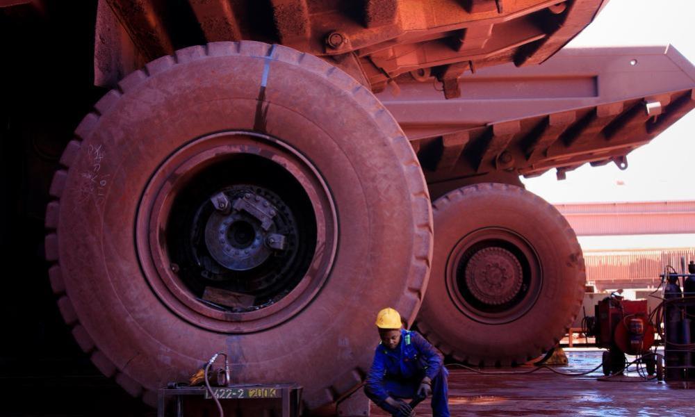 Kumba Iron Ore mine in South Africa.