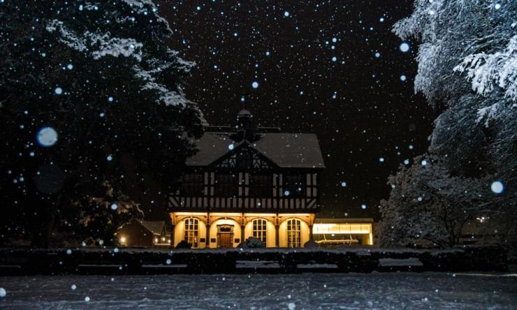 More winter magic in Leominster.