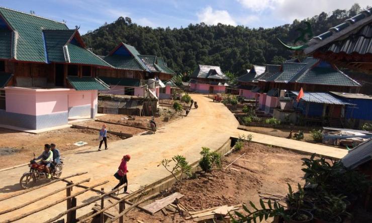 Padangshang village in China