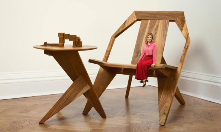 Pull up a chair: Julia Peyton-Jones.