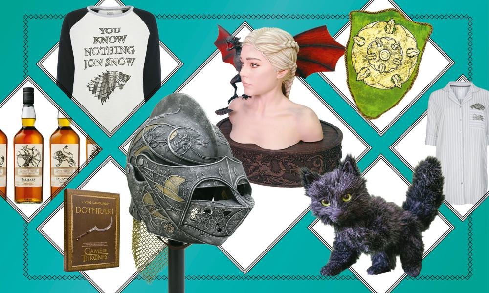 Can you go through an entire day using only GoT-branded products? Probably.