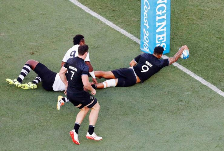 New Zealand's men claimed the final medal on offer at Gold Coast 2018 with victory in the men's rugby sevens final.