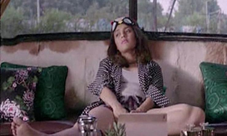 Swara Bhaskar in the controversial scene from Veere di Wedding.