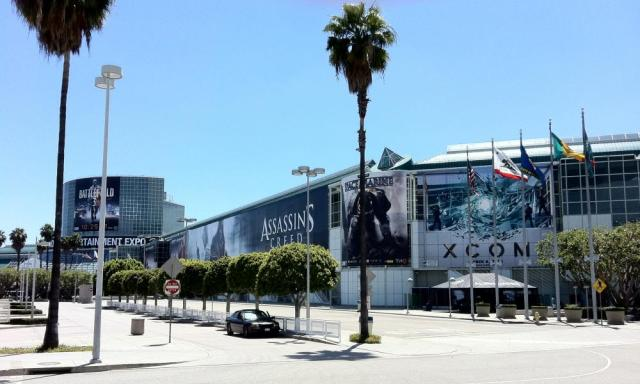 The calm before the storm: a quiet Los Angeles convention centre two days before the start of E3 2011