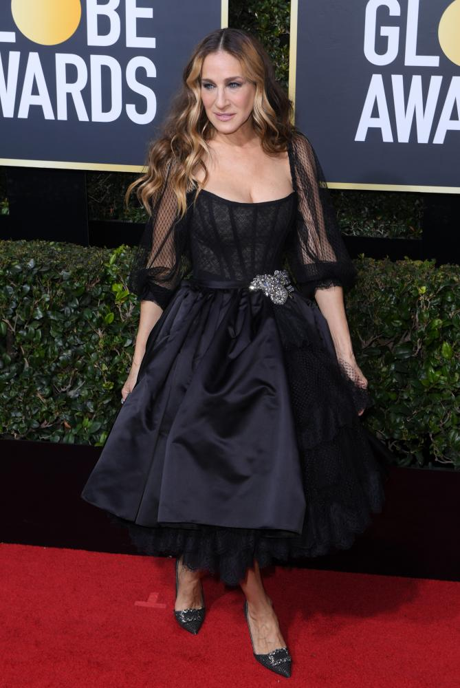Sarah Jessica Parker 75th Annual Golden Globe Awards