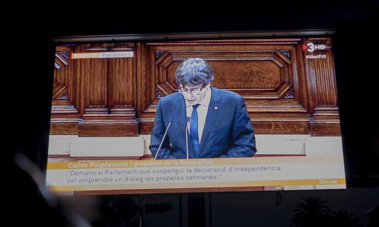 President Carles Puigdemont