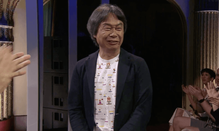 Miyamoto at Ubisoft's E3 2018 press conference
