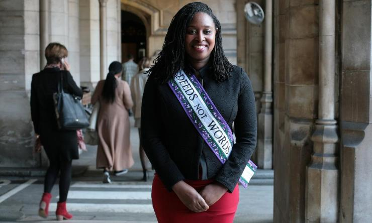 .International Women's Day Dawn Butler MP, Shadow Equalities Minister 07-03-2018 Photograph by Martin Godwin
