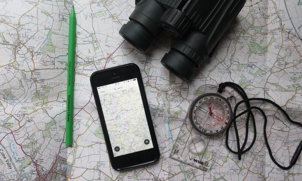 Ordnance Survey digital mapping service
