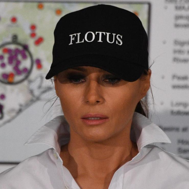 Melania's Flotus cap.