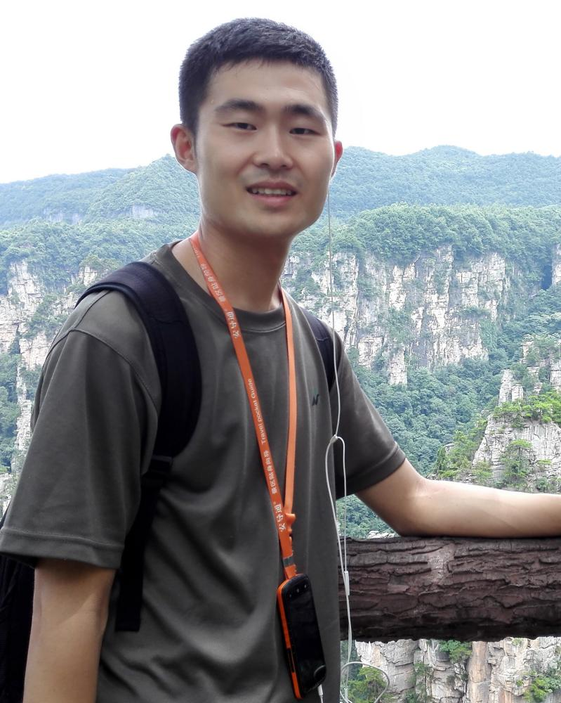 Dr. Gongjie Wang, lead author of research paper.