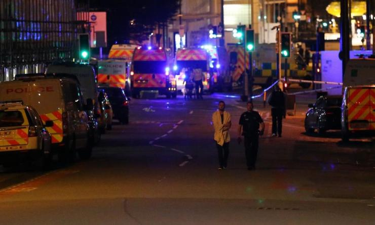General Views of the Manchester Explosion, Manchester, UK - 23 May 2017Mandatory Credit: Photo by Seb Beeson/SilverHub/REX/Shutterstock (8828051ar) General Views General Views of the Manchester Explosion, Manchester, UK - 23 May 2017
