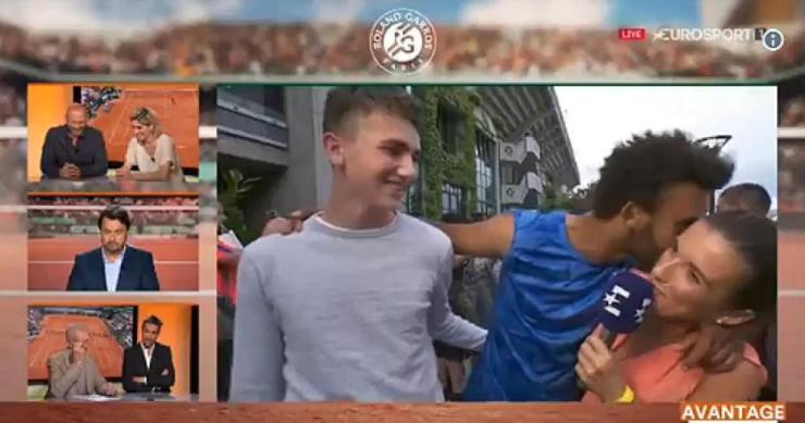Court of appeal: French tennis player Maxime Hamou makes life very awkward in his TV interview, What happened next (Q70)?