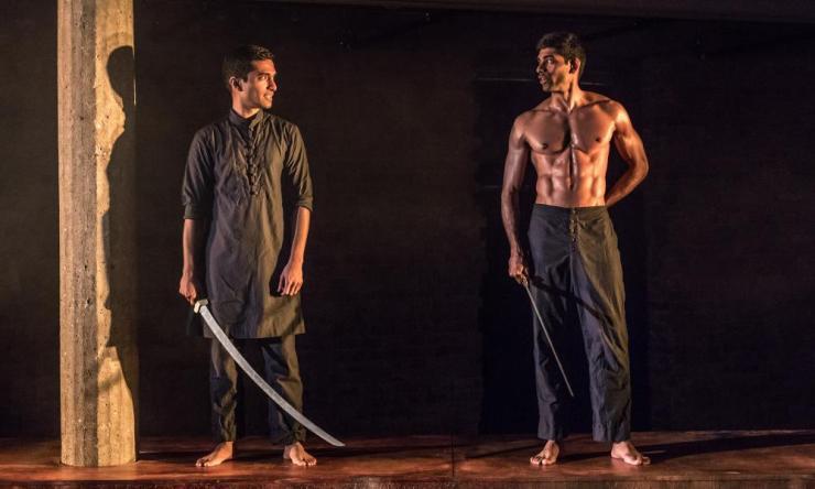 Danny Ashok and Darren Kuppan in Guards at the Taj