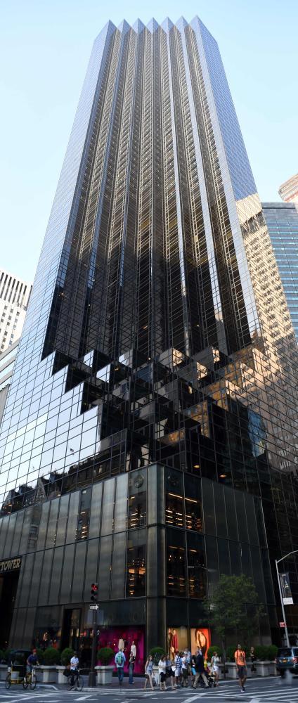 Trump Tower, New York.