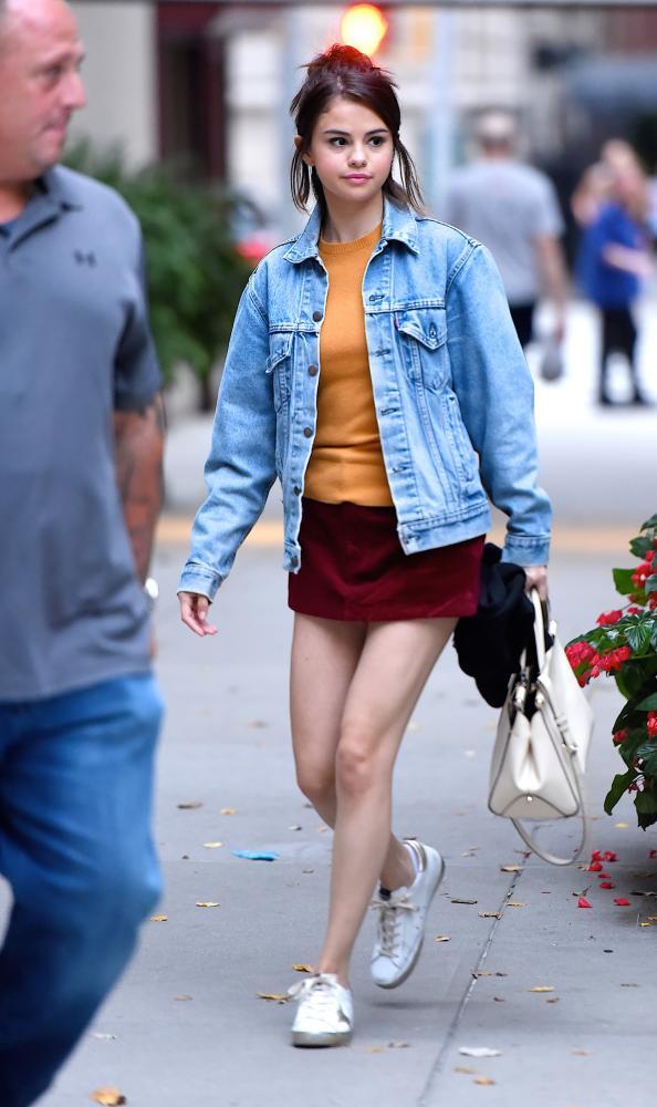 Selena Gomez off-duty in Manhattan.