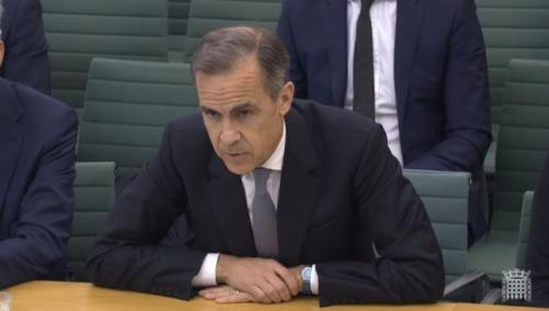 Carney at the select committee.
