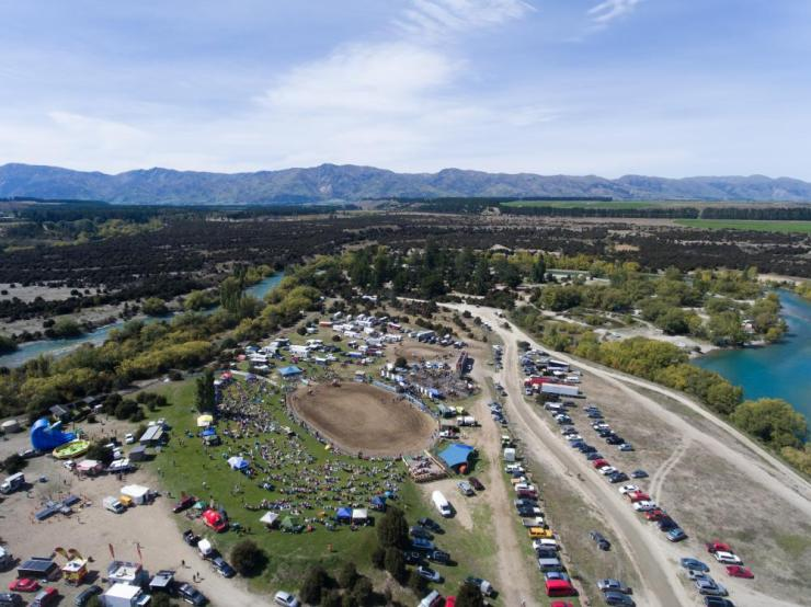 The Wanaka rodeo grounds.
