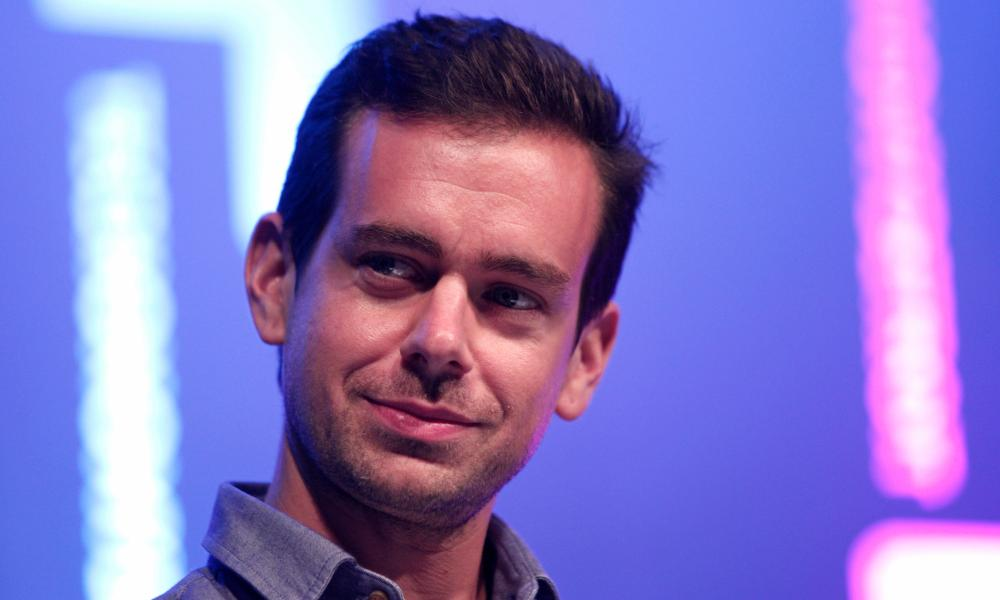 Jack Dorsey urged staff to post messages on Twitter expressing confidence in the company. That followed news that four of Twitter's senior executive team were to leave.